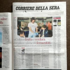 Articolo intervista a Filippo Civran sul Corriere della Sera, edizione di Torino.