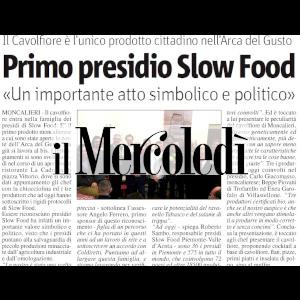 Articolo de Il Mercoledì sul Cavolfiore di Moncalieri fermentato da Civran, nuovo Presidio Slow Food del territorio